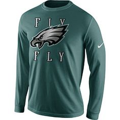 615c8a969 Get this Philadelphia Eagles Fly Eagles Fly Long Sleeve T-Shirt at  PhillyTeamStore.com