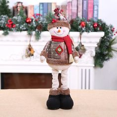 New 2019 Merry Christmas Ornaments Christmas Gift Santa Claus Snowman Tree Toy Doll Hang Decorations For Home Enfeites De Natal Snowman Tree, Christmas Snowman, Merry Christmas, Christmas Gifts, Christmas Ornaments, Snowmen, Doll Toys, Dolls, Funny Doormats