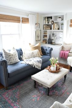 Favorite shelter sofas and top questions asked on Instagram to a home blogger- Nesting with Grace