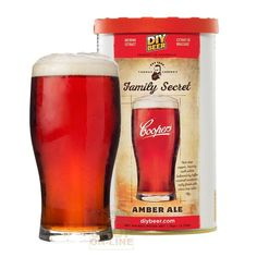 The Coopers Family Secret Amber Ale has a biscuity malt palate balanced by toffee caramel sweetness and a nutty finish with citrus hop notes. Home Brew Supplies, Brewing Supplies, How To Make Beer, Food To Make, Home Brew Shop, Beer Ingredients, Ale Recipe, Home Brewing Equipment, Homemade Beer