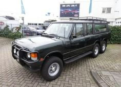 #RangeRover Classic 6x6 by Scottorn Trailers Ltd - UK : only 5 were build. This is number 5 and it is for sale !