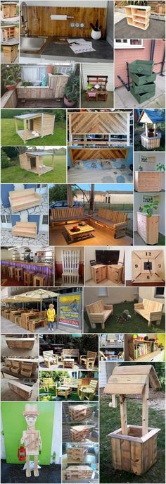 25 Unique and Creative Ways to Recycle Wooden Pallets