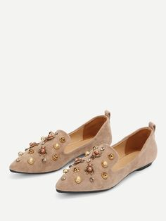bianca Faux Pelle Round Toe Slippers in in in 2018   Fashion   Pinterest   21b430