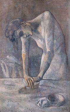 Pablo Picasso - La planchadora