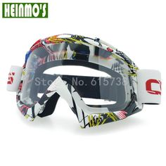 6a2288467b2 Barato Motocross Gafas de protección Snowboard al aire libre de los hombres  Gafas Casco Moto a