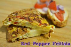 Red Pepper Frittata - #Shortcuteggspert