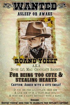 "My son, Roand ""Twelve"" Yozef, turned 1 last November 27 th and we prepared a cowboy themed celebration for him, yeeha. 1 Year Birthday, Cowboy Birthday Party, Cowboy Party, Birthday Ideas, Birthday Parties, 1st Birthdays, Cute Cakes, Old Boys, Cowboys"