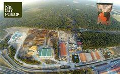 Vista de la emrpesa Naturpellet, , Proceso de producción y envasado de pellet 100% ecológico
