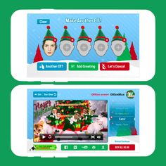This ElfYourself app is sure to add cheer + giggles to your holiday.