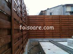 Garduri din lemn model 3m inaltime