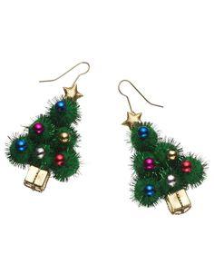Xmas Tree Earrings discovered on Fantasy Shopper Christmas Jingles, Little Christmas Trees, Xmas Tree, Christmas Diy, Christmas Decorations, Christmas Ornaments, Christmas Tree Earrings, Christmas Jewelry, Vintage Costume Jewelry