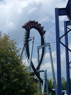 great bear at hershey park!! I actually went on this a few times.  Great ride.