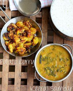 keerai-sambar-potato-curry- by Raks anand, via Flickr