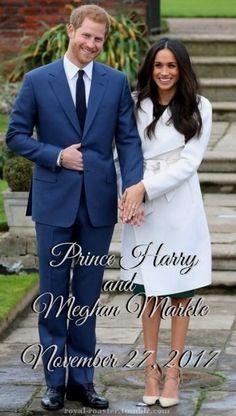 Nov 27, 2017--Harry & Meghan's Engagement--Royal Roaster