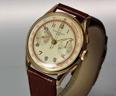 Baume & Mercier klassischer Vintage Chronograph 18K... für 2.250€ kaufen von einem Trusted Seller auf Chrono24