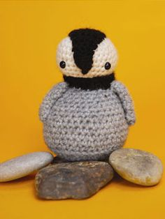 Cuddly Crochet Creatures: Penguin - Free pattern