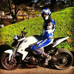 My love Honda CB1000R Helmet by Arai Motorcicke Outfit by Suomy Boots by Sidi Gloves by Giufici #SAFETYFIRST
