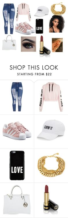 slayin by lowkeysavage11 on Polyvore featuring adidas Originals, Michael Kors, Givenchy, SO and Gucci