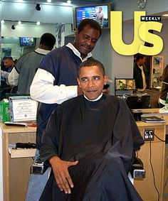 Obama Family: Just Like Us!: They Start to Go Gray!