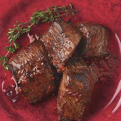 Harissa-Marinated Top Sirloin Tips - Marilou Roberts - African Food Steak Recipes, Cooking Recipes, Healthy Recipes, Dinner Menu, Dinner Recipes, Sirloin Tips, Steak Tips, Israeli Food, Israeli Recipes