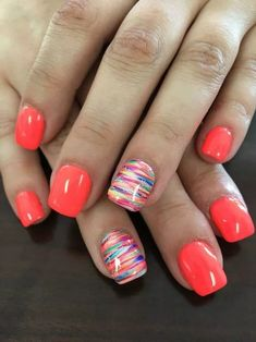 Nails ideas 66 gel nails designs that are all your fingertips need to steal the show 61 – . All you need to play the 66 gel nail design at your fingertips 61 - JANDAJOSS. Spring Nail Art, Spring Nails, Nail Summer, Bright Summer Gel Nails, Pedicure Summer, Summer Shellac Nails, Spring Nail Colors, Summer Nail Polish Colors, Summer Pedicure Designs