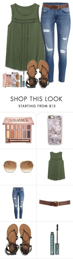 """""""There's no way I can make it without you"""" by labures on Polyvore featuring Urban Decay, Chloé, Gap, H&M, Warehouse and Billabong"""