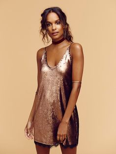 Seeing Double Sequin Slip from Free People!