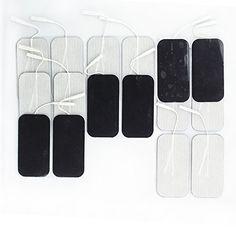 "Syrtenty Premium TENS Unit Electrodes 2""x4"" rectangular 16 pack Electrode for TENS Massage EMS - 100% Satisfaction Guarantee by Syrtenty http://www.amazon.com/Syrtenty-Square-TENS-Unit-Electrodes/dp/B00K5088RW/ref=sr_1_4?ie=UTF8&qid=1427043275&sr=8-4&keywords=electrodes"