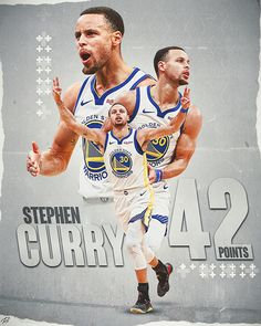 Stephen Curry 42 Point Design on Behance