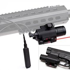 Special Offers - CISNO 2in 1 CREE Q5 LED Tactical Flashlight Red Laser Sight With Pressure Switch For Pistol Rifle Picatinny Weaver Rail - In stock & Free Shipping. You can save more money! Check It (April 29 2016 at 02:27PM) >> flashlightusa.net...