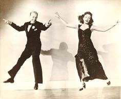 "JOAN LESLIE & FRED ASTAIRE, ""The Sky's the Limit"", 1943"