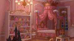 A Disney Princess room. :)