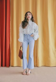 Image in de.STYLE ✧ collection by bunnieisgood Korean Street Fashion, Korea Fashion, Asian Fashion, Girl Fashion, Fashion Outfits, Fashion Tips, Retro Fashion, Casual Outfits, Cute Outfits
