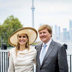 29-05-2015 Koning Willem-Alexander en Koningin Maxima op Staatsbezoek in Canada.