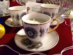 A personal favourite from my Etsy shop https://www.etsy.com/uk/listing/259554778/set-of-three-vintage-bone-china-tea-cup