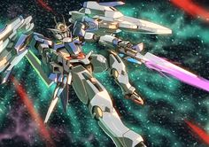 Mobile Suit Gundam 00 - GN-0000+GNR-010 00 Raiser