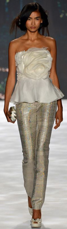 • Badgley Mischka Spring Summer 2013 Ready-To-Wear collection •