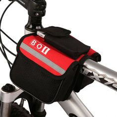 Front Tube Panniers - Foldable Bicycle Bag