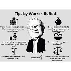 Loving these tips from Warren Buffett! Double tap if you agree and tag a friend that needs to see this! by foundrmagazine Warren Buffett, Business Motivation, Business Quotes, Business Ideas, Warren Buffet Quotes, Foundr Magazine, Ideas Magazine, Success Quotes, Life Quotes