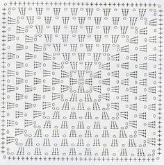 Noire Crafts: Patron Granny squares, cuadrados a crochet                                                                                                                                                                                 Más
