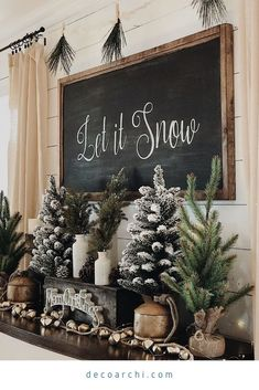 Looking for for ideas for farmhouse christmas decor? Check this out for amazing farmhouse christmas decor ideas. This specific farmhouse christmas decor ideas seems completely excellent. Christmas Mantels, Noel Christmas, Winter Christmas, Outdoor Christmas, Homemade Christmas, Elegant Christmas, Christmas 2019, Christmas Fireplace, Christmas Snacks