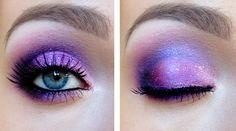 Purple Pink look so pretty