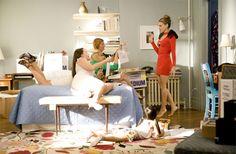 Sex and the city Sex and the City foi lançado em 1998 e até hoje continua sendo um sucesso. As cenas vividas pelas personagens principais são familiares para a maioria das mulheres dos tempos de hoje. Se você também gosta e se identifica com a história, vem descobrir se é mais parecida com Carrie, Samantha, Charlotte ou Miranda!
