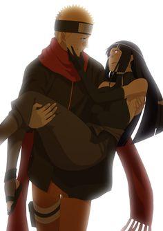 Naruto and Hinata By: -翠-