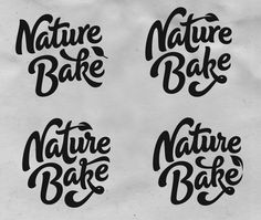 Nature_bake_sketches - Rob Clarke Type