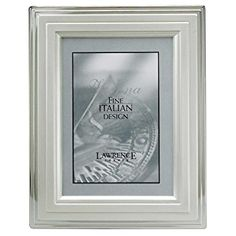 Lawrence Frames Metal Picture Frame Silver-Plated Step, 8 by 10-Inch Review