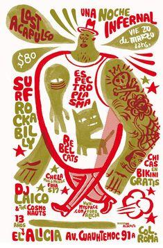 by Jorge Alderete #2color #poster #illustration