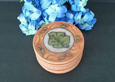 Ivy Coasters by OurVintageNest on Etsy