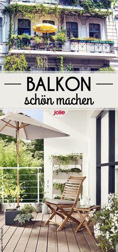 Neue Trends und super Tipps & Tricks für euren Balkon