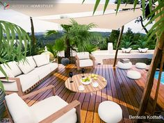 Sehen Sie sich mein #Innendesign 'TROPIC DESIGN BY C Patio, Outdoor Decor, Home Decor, Terrace, Interior Design, Home Interior Design, Home Decoration, Decoration Home, Interior Decorating
